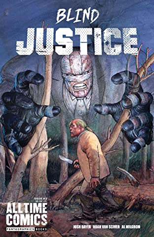 All Time Comics: Blind Justice No.2