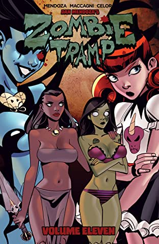 Zombie Tramp Tome 11: Demon Dames and Scandalous Games