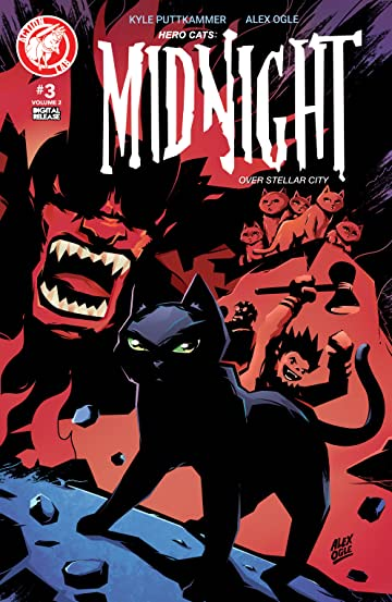 Hero Cats: Midnight Over Stellar City Vol. 2 #3