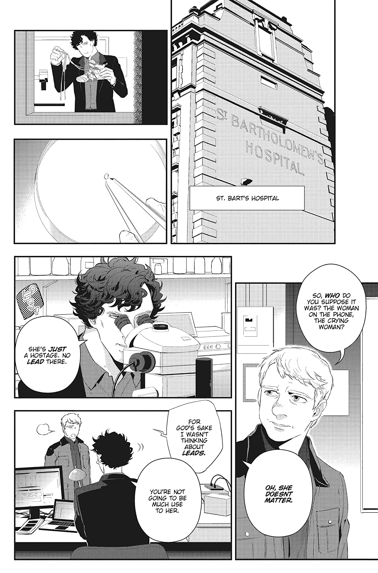 Sherlock: The Great Game #2