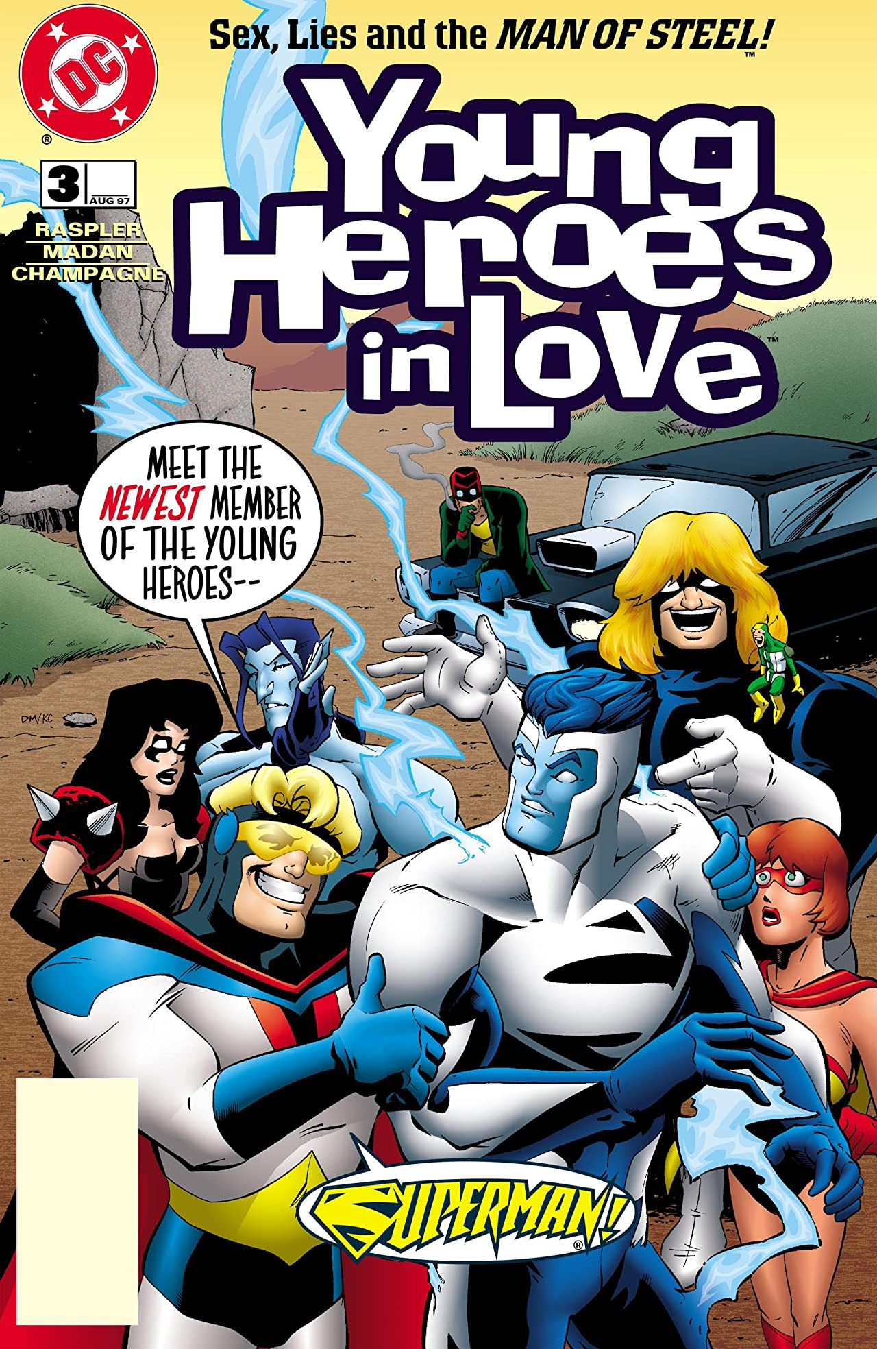 Young Heroes in Love (1997-1998) #3