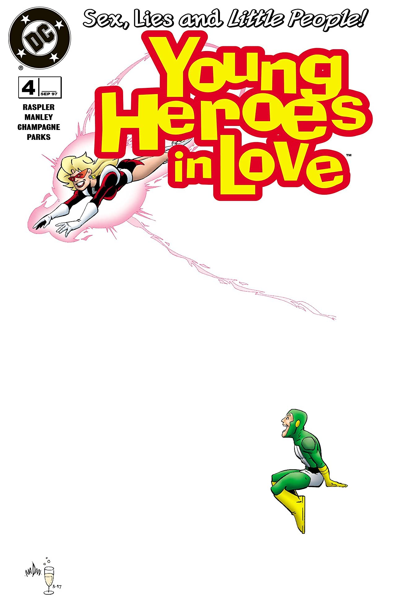 Young Heroes in Love (1997-1998) #4