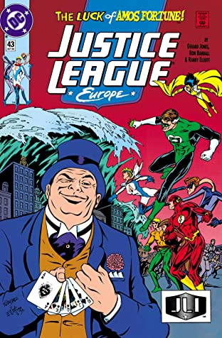 Justice League Europe (1989-1993) #43