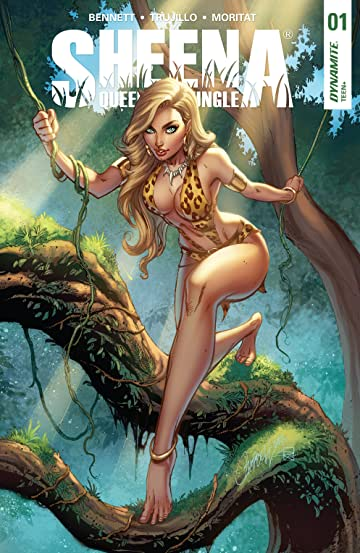 Sheena: Queen Of The Jungle #1