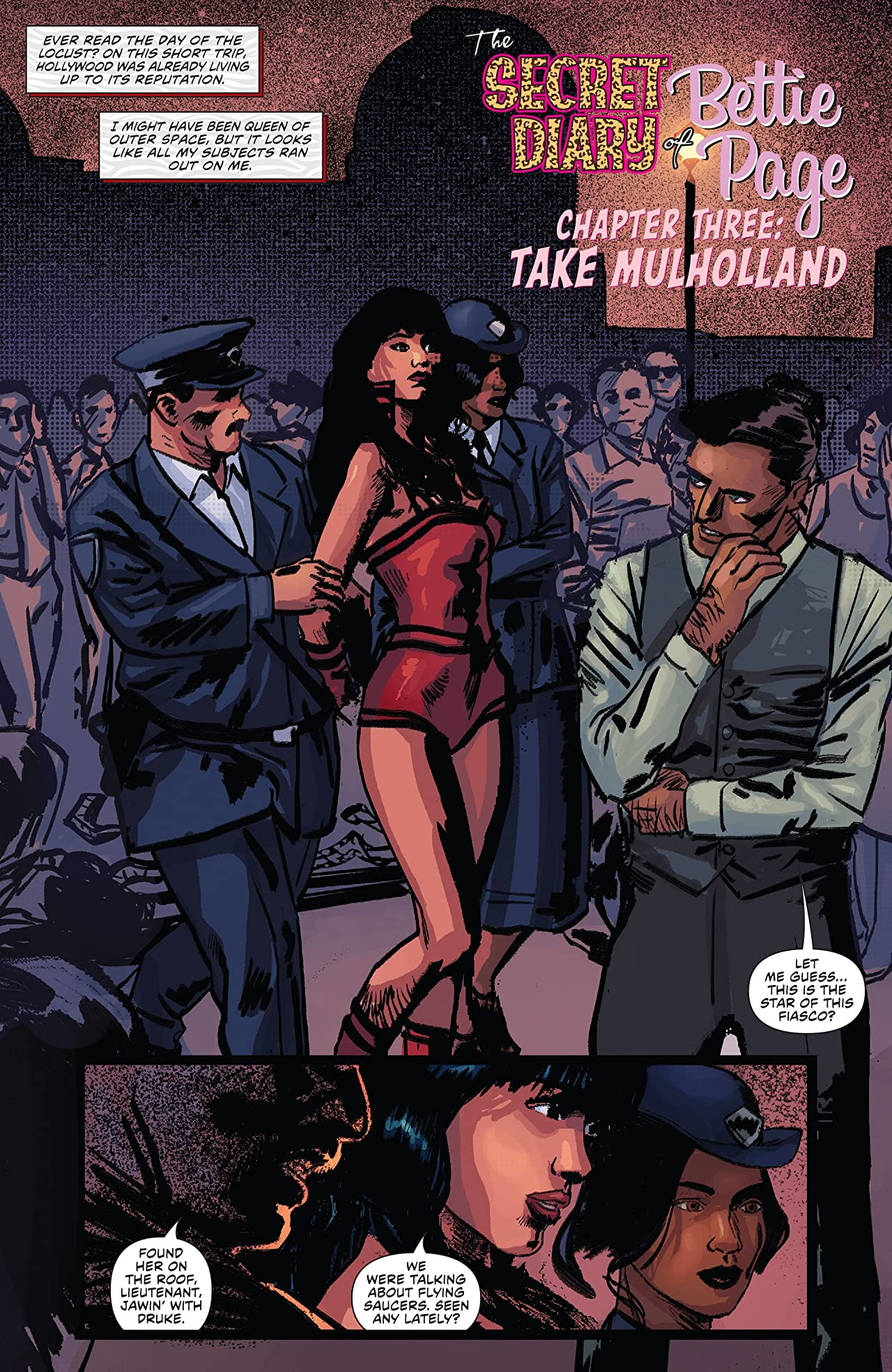 Bettie Page (2017) #3
