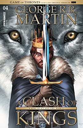 George R.R. Martin's A Clash Of Kings: The Comic Book #4