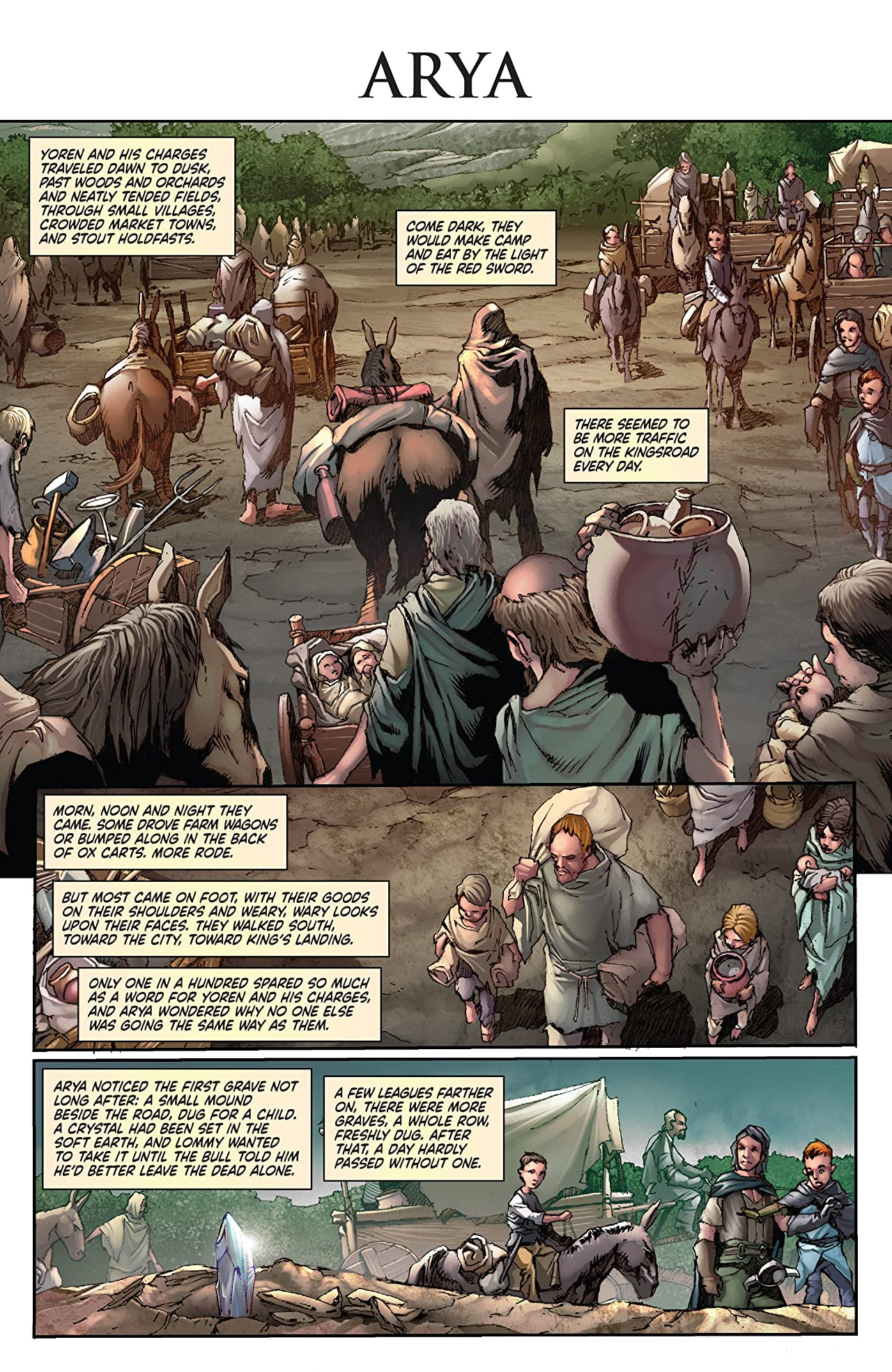 George R.R. Martin's A Clash Of Kings: The Comic Book No.4
