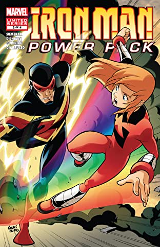 Iron Man and Power Pack (2007-2008) #2 (of 4)
