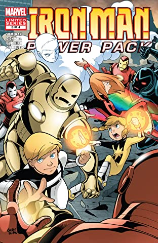 Iron Man and Power Pack (2007-2008) #3 (of 4)