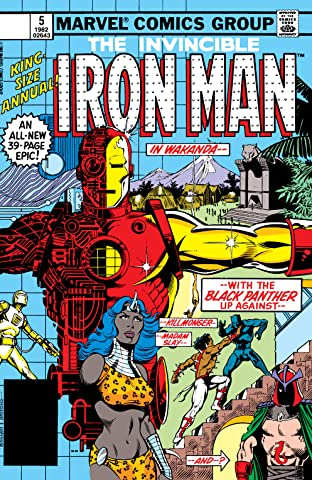 Iron Man (1968-1996) Annual #5