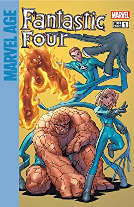 Marvel Age Fantastic Four (2004-2005) #1