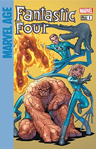 Marvel Age Fantastic Four (2004-2005) #1