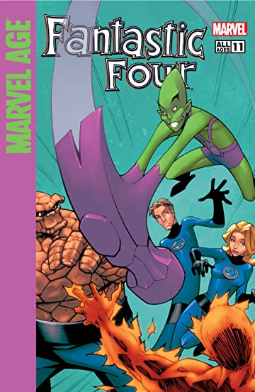 Marvel Age Fantastic Four (2004-2005) #11