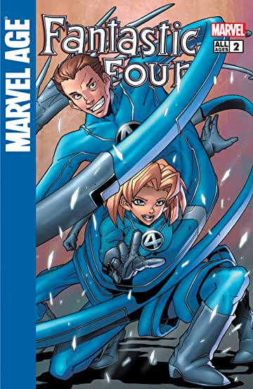 Marvel Age Fantastic Four (2004-2005) #2
