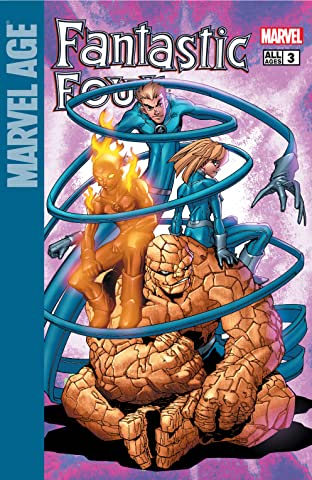 Marvel Age Fantastic Four (2004-2005) #3