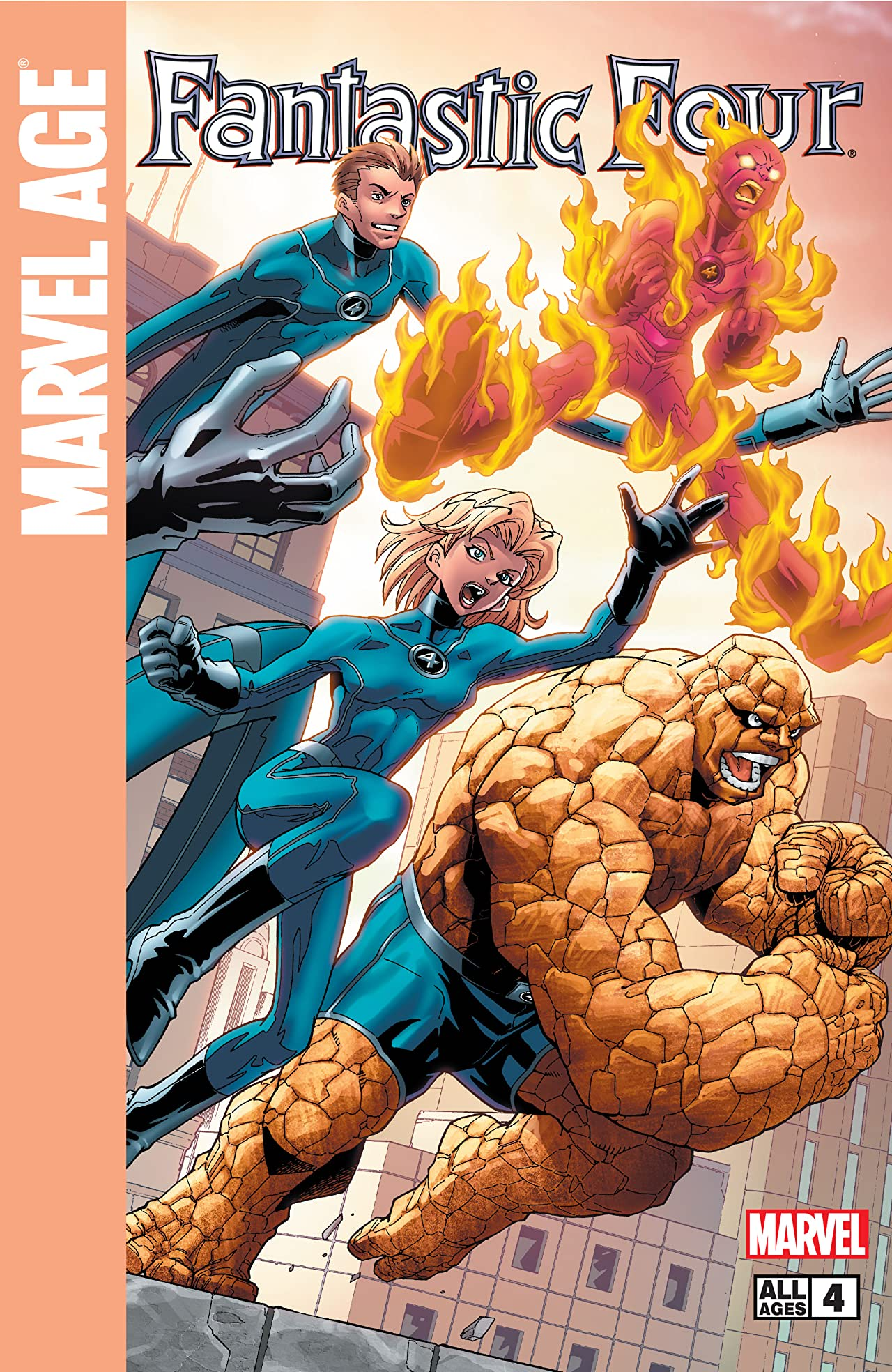 Marvel Age Fantastic Four (2004-2005) #4