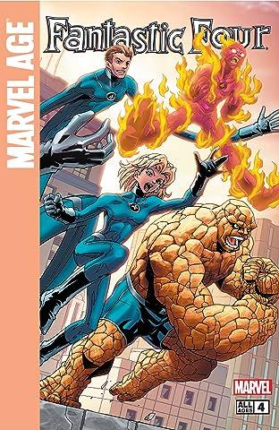 Marvel Age Fantastic Four (2004-2005) #4