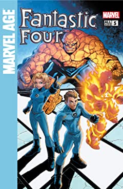 Marvel Age Fantastic Four (2004-2005) #5