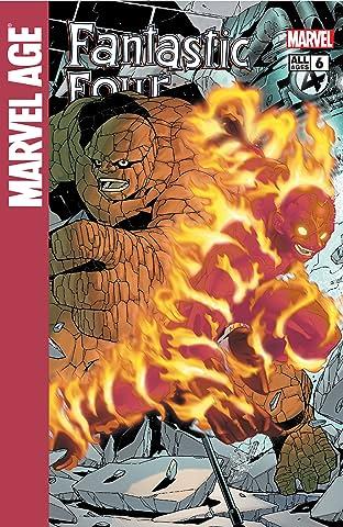 Marvel Age Fantastic Four (2004-2005) #6