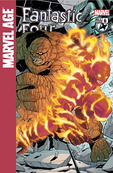 Marvel Age Fantastic Four (2004-2005) #6