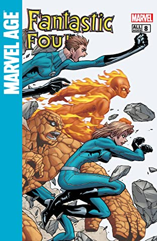 Marvel Age Fantastic Four (2004-2005) #8