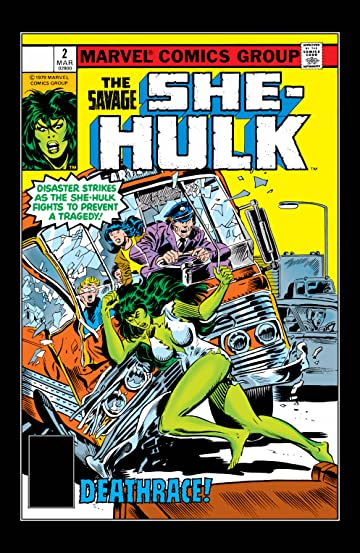Savage She-Hulk (1980-1982) #2