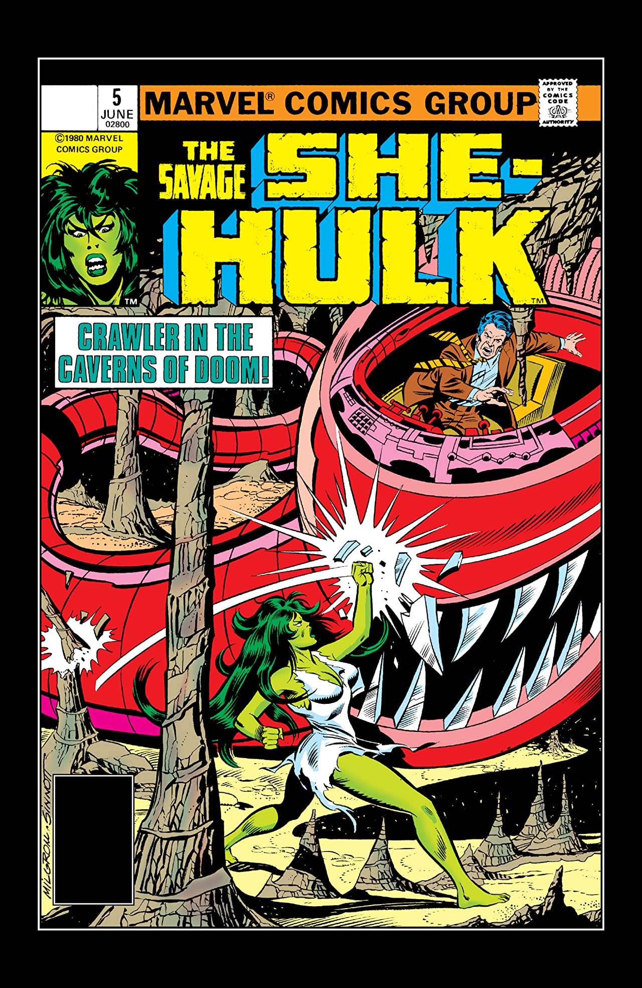 Savage She-Hulk (1980-1982) #5