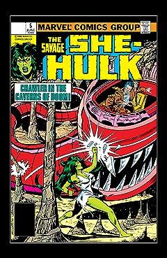 Savage She-Hulk (1980-1982) #5