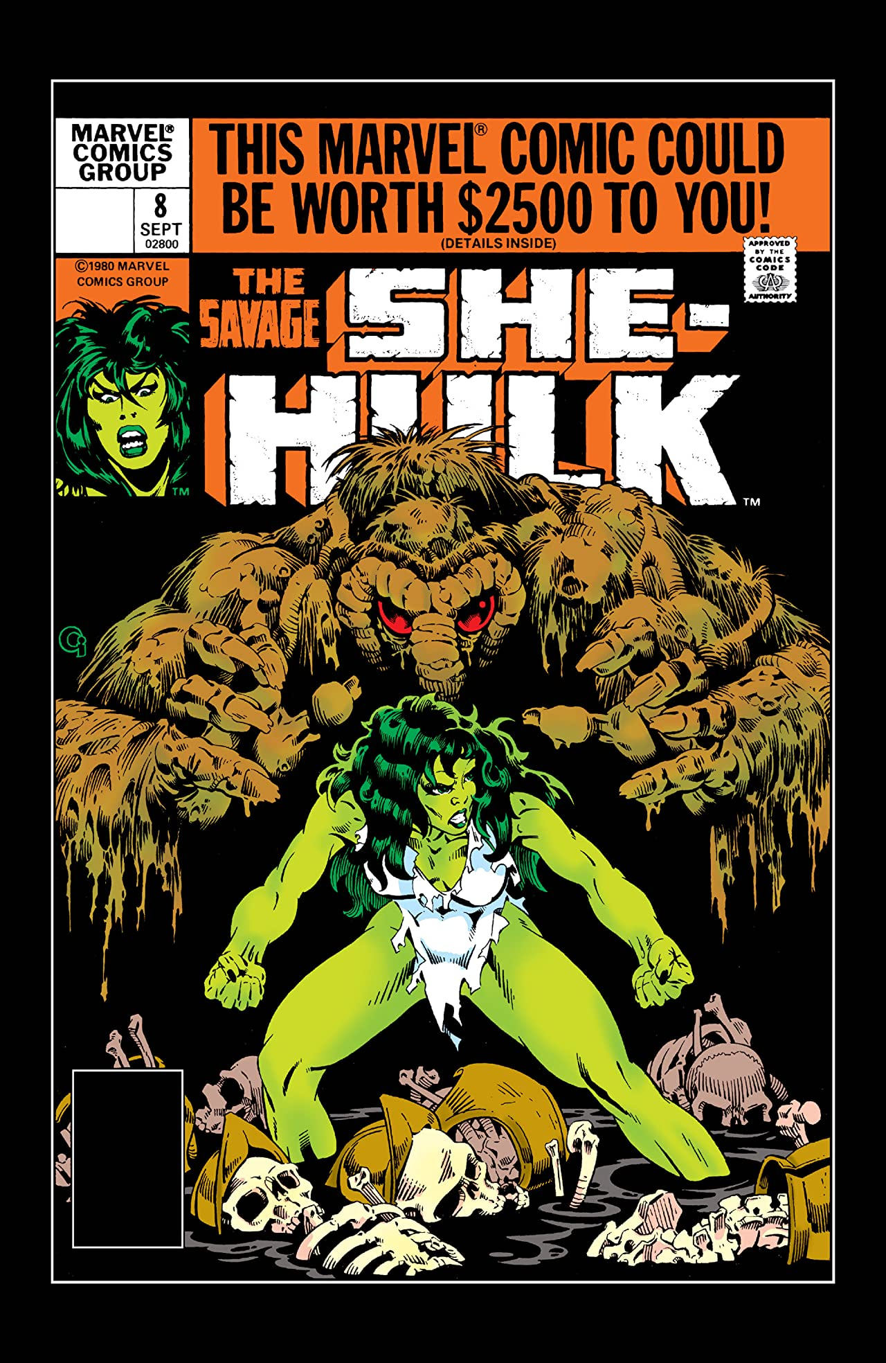 Savage She-Hulk (1980-1982) #8