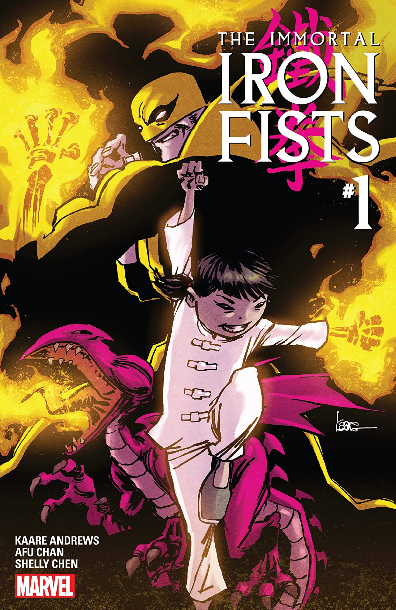 Immortal Iron Fists (2017) #1 (of 6)