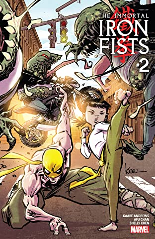 Immortal Iron Fists (2017) No.2 (sur 6)