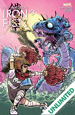Immortal Iron Fists (2017) #3 (of 6)