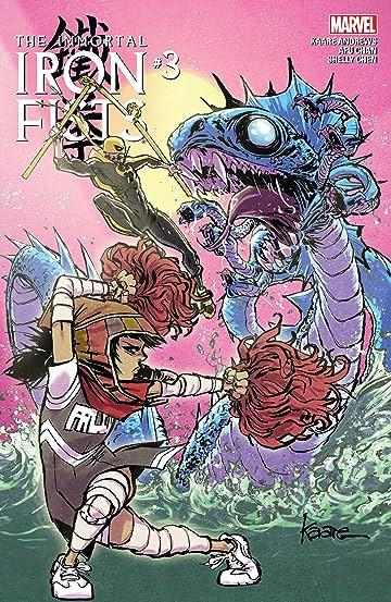 Immortal Iron Fists (2017) #3 (of 6)