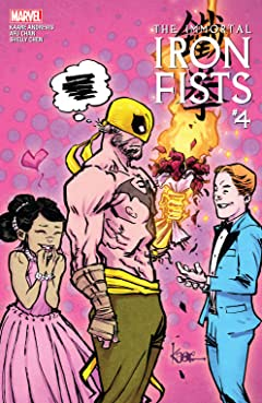 Immortal Iron Fists (2017) No.4 (sur 6)