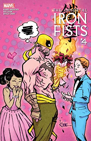 Immortal Iron Fists (2017) #4 (of 6)