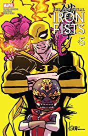 Immortal Iron Fists (2017) #5 (of 6)