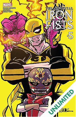 Immortal Iron Fists (2017) #5 (of 6)