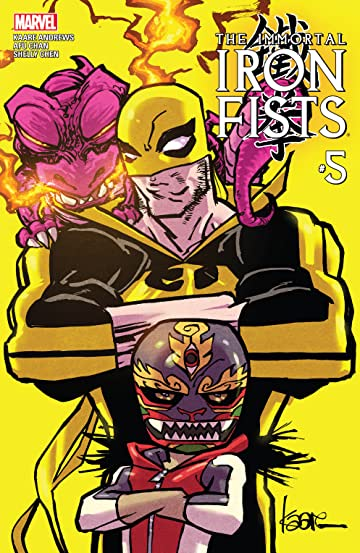 Immortal Iron Fists (2017) No.5 (sur 6)