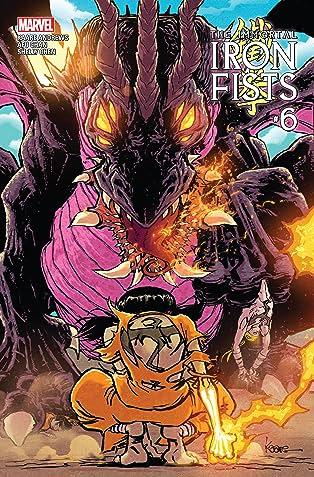Immortal Iron Fists (2017) #6 (of 6)