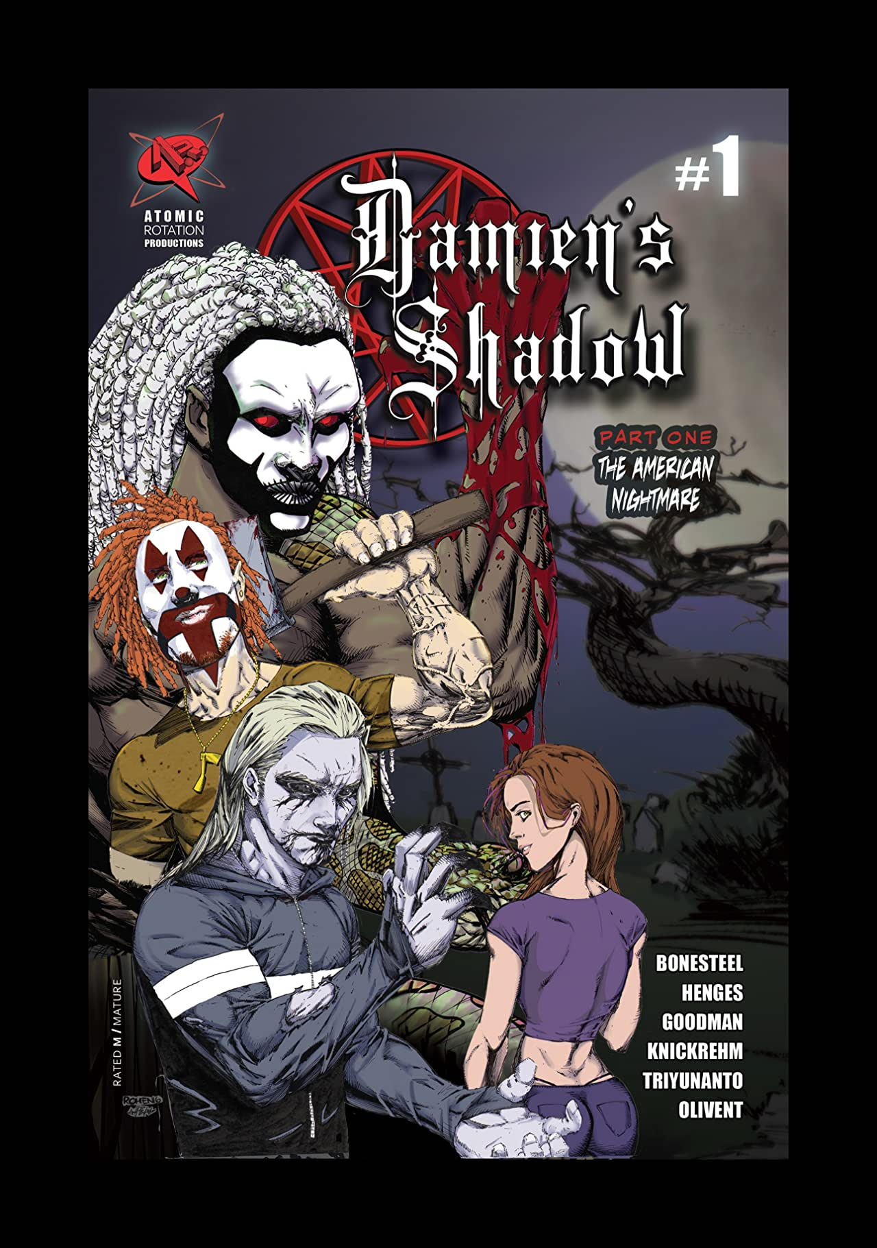 Damien's Shadow #1