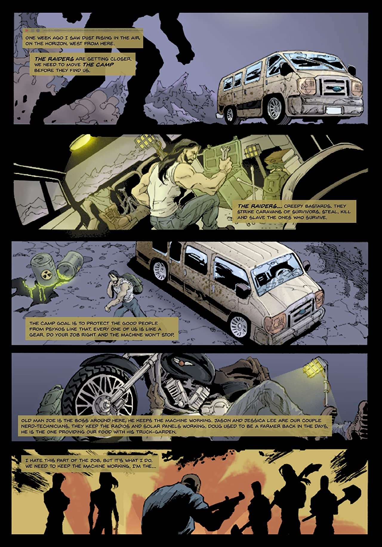 Buried: The Last Days of Mankind #1
