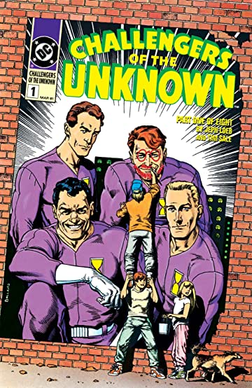 Challengers of the Unknown (1991) #1