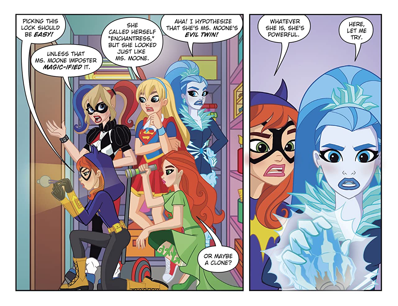 DC Super Hero Girls: Out of the Bottle (2017-) #9