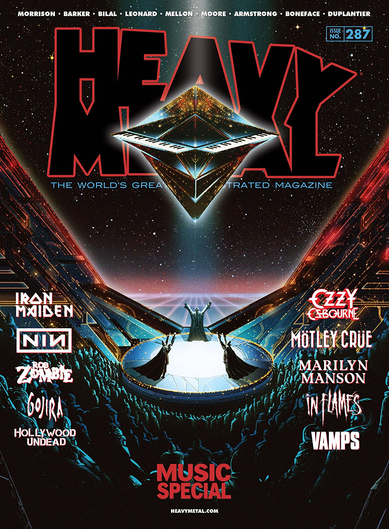Heavy Metal #287