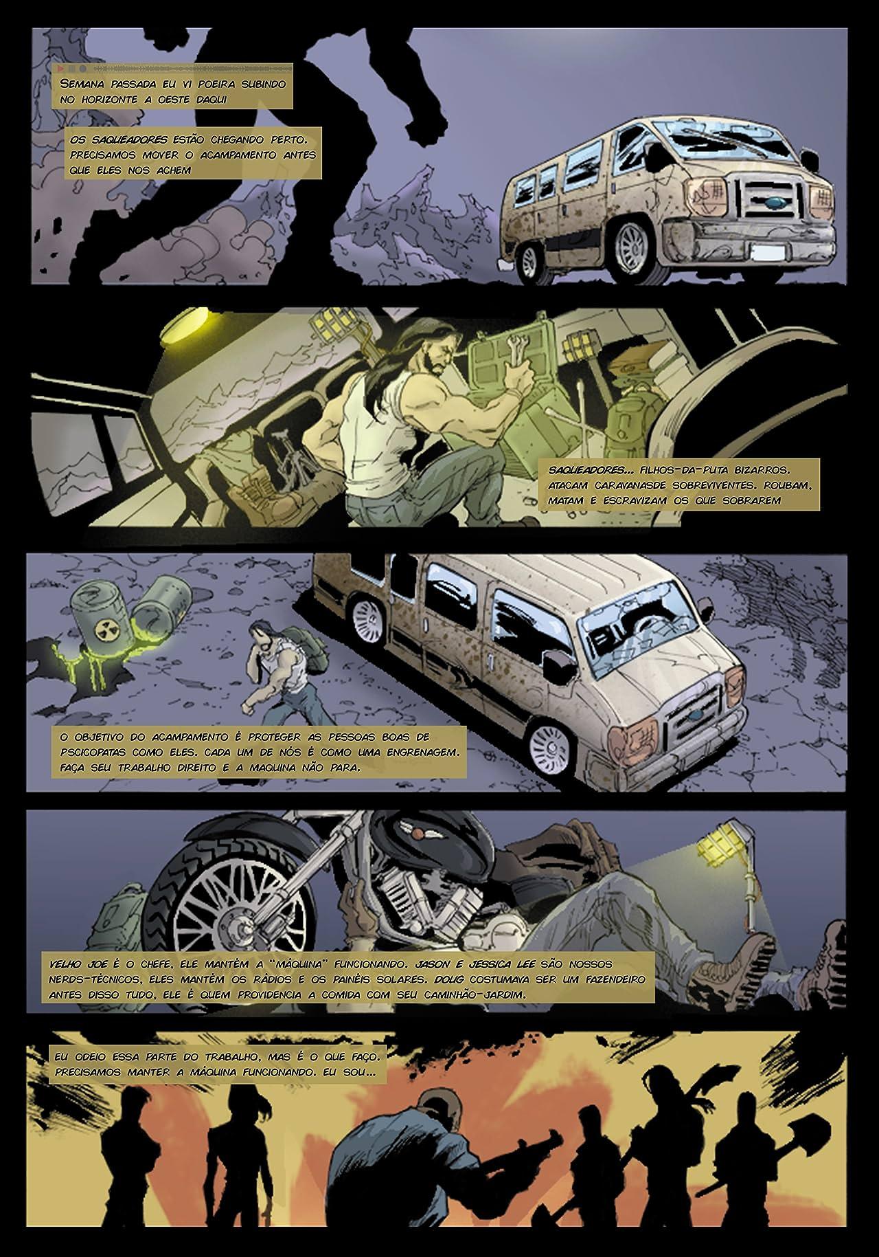 Buried: Os últimos Dias da Humanidade #1