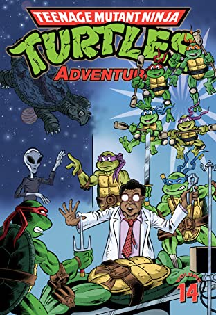 Teenage Mutant Ninja Turtles Adventures Tome 14