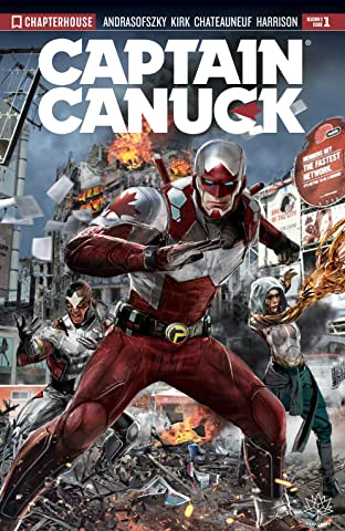 Captain Canuck (2017) #1