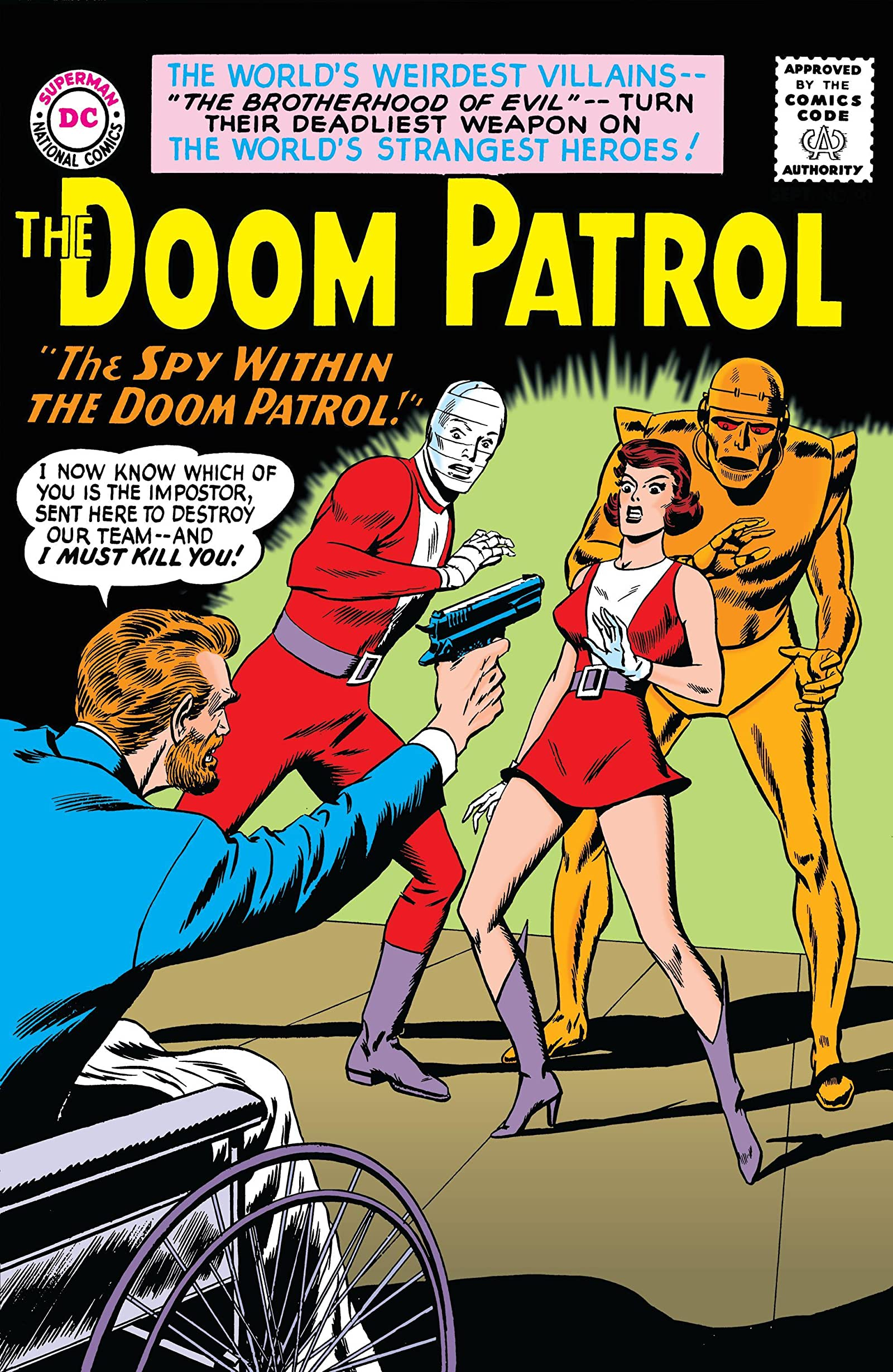 Doom Patrol 1964 1968 90 Comics By Comixology