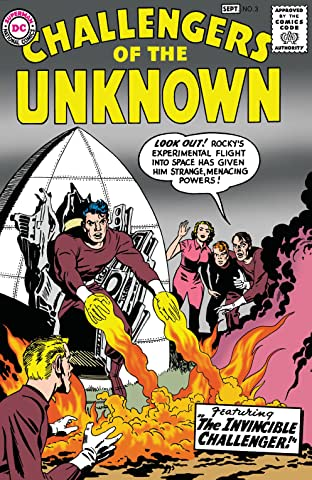Challengers of the Unknown (1958-1978) No.3