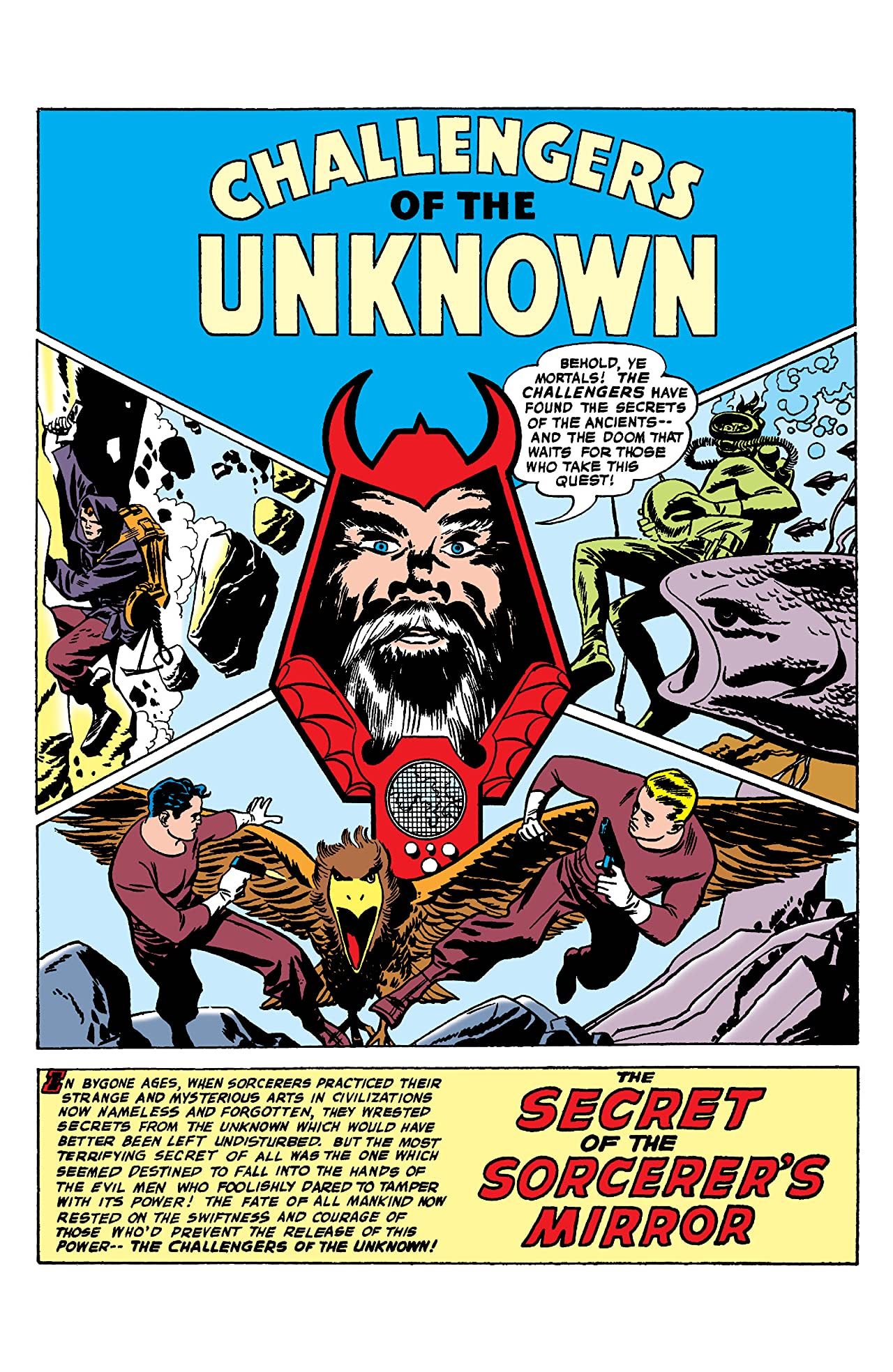 Challengers of the Unknown (1958-1978) #3